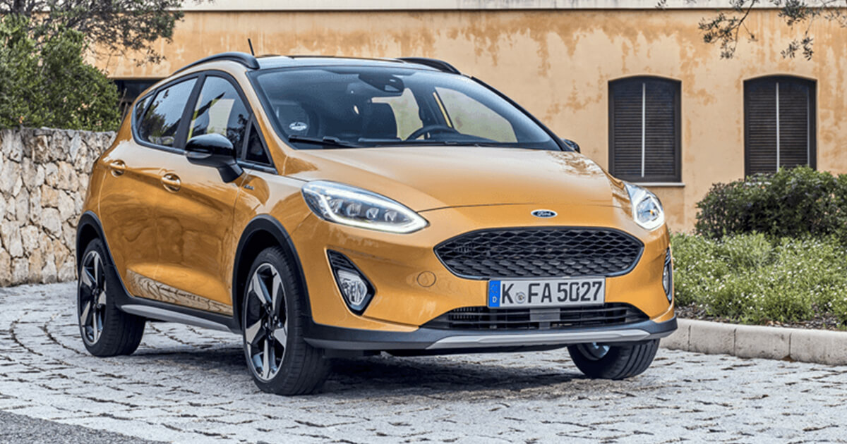 Yeni Ford Fiesta Active Crossover
