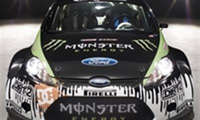 Ken Block's Monster Ford Fiesta
